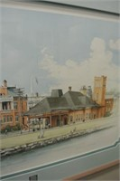 Catherine Ann Abel Barrie Train Station Print