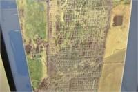Framed Google Earth Style Image