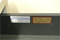 5 Drawer Grey Laminate Desk