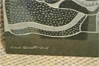 Sculptor David Bernett Granite Carved Panel