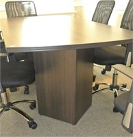 Contemporary Compact Board Room Table
