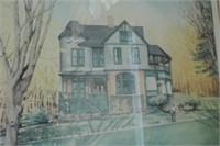 'Roxboro' Print by Catherine Ann Abel
