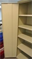 Metal Locker Style Upright Storage Cabinet
