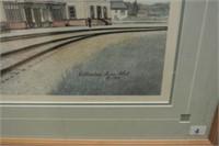 Framed Catherine Ann Abel Artist's Proof