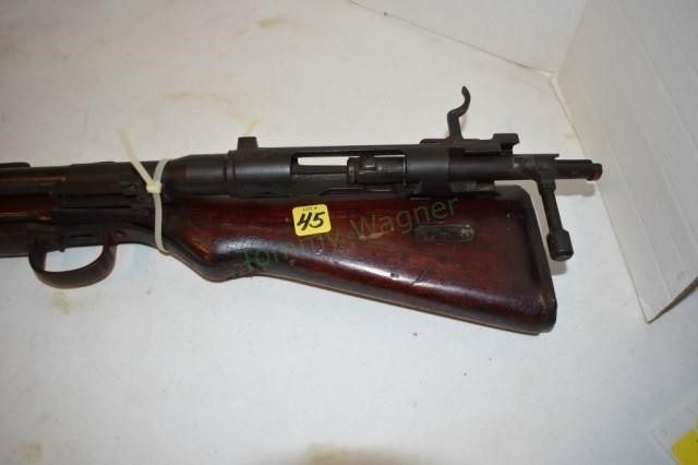 Japan, WWII ? Rifle, parts only , Type 7, Fore | Tommy Wagner Auctions