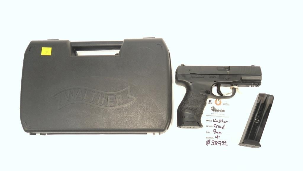 Walther Creed 9mm semi-auto, 4