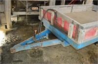 Single Axle Hydraulic Dump Box