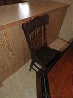 Dining Table with (6) Press Back Dining Chairs