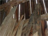 Large Grouping of Rough cut lumber