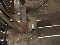 Old windmill pump jack