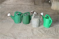 (4) Watering Cans