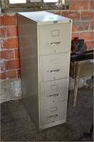 4 Drawer Steel Filing Cabinet
