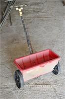 Steel Wheelbarrow with Double Front Wheels