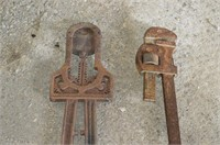 Horn Cutter and Heavy Pipe Wrench