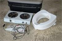 Action Packer, Hotplate, Toilet Riser, etc.