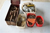 Tray of Assorted Hardware, Cotter Pins,