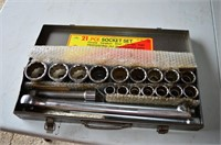 "ITC 21PC Socket Set, 3/4"" Drive"
