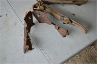 (2) Pair of Antique Ice Skates