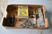 Tray of Battery Terminals, Drill Grinding