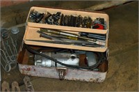 Grp, of Toolbox, Drill, Assorted Hand Tools