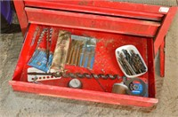2 Stage Tool Chest on Castors with Contents