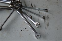 (15) Snap-On Combination Wrenches