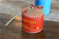 Metal Safety Fuel Can
