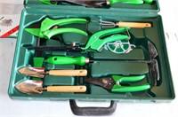 Gardening Tool Set in Case