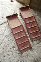 Set of Steel Car Ramps