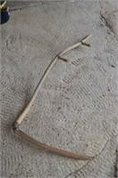 Wood Handled Scythe