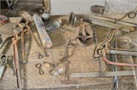 Table of Assorted Vintage Items