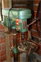 Toolex 16 Speed Floor Standing Drill Press