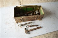 Ammo Box with Assortment of Tools and Pins