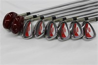 Paradise ladies golf clubs, 2 woods, 6 irons and 2