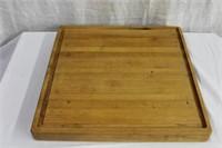 """Solid 16 X 16"""" cutting board"""