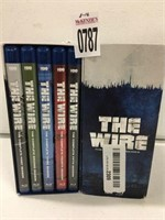 THE WIRE BLU RAY COMPLETE SEASON