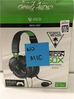 XBOX ONE RECON GAMING HEADSET (MISSING MIC)