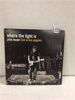 JOHN MAYER WHERE THE LIGHT IS RECORD ALBUM