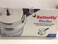 BUTTERFLY BLUELINE STAINLESS STEEL PRESSURE COOKER