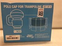 POLE CAP FOR TRAMPOLINE 1 INCH X 8