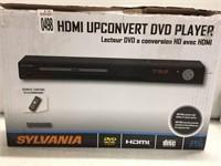 HDMI UPCONVERT DVD PLAYER