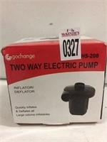 GOCHANGE TWO WAY ELECTRIC PUMP