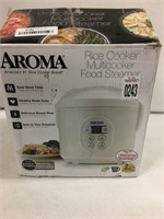 AROMA RICE COOKER MULTICOOKER FOOD STEAMER
