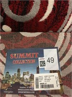 SUMMIT COLLECTION RUG SIZE- 55CM X 90CM COLOR RED