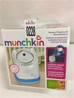 MUNCHKIN NURSERY PROECTOR AND SOUND SYSTEM