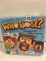 WHONOSE FAMILY GAMES