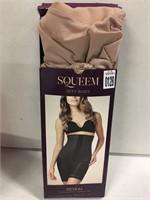 SQUEEM SEXY BODY BEIGE SIZE-XL