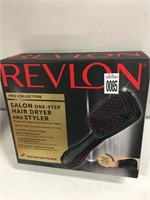 REVLON PRO COLLECTION HAIR DRYER AND STYLER