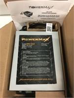 POWERMAX AC TO DC CONVERTER/CHARGER MODEL PM4-45LK