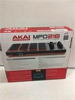 AKAI MPD218 MINI PAD CONTROLLER W/16 MPC PADS